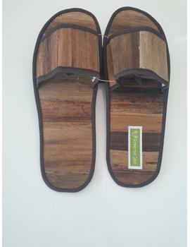*SALE* Gree-ne-las Basic Slides, woven sawali outsole, unisex-BSWOU-1-sm