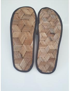 *SALE* Gree-ne-las Basic Slides, woven sawali outsole, unisex-8-1-sm
