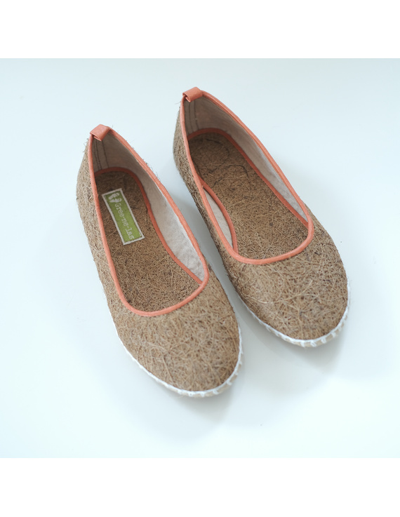 *SALE* Coco Espadrilles, orange size 8 & natural tan sizes 5,6&7-CEO-1