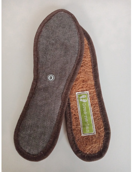 *SALE* Coco Insole with leather/canvas-9-1-sm