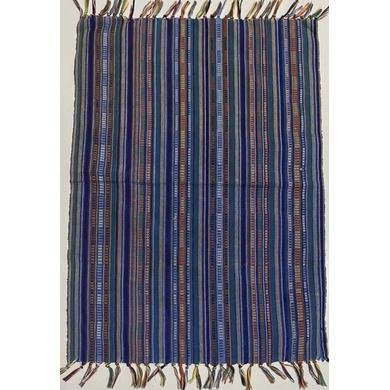 Yakan Cloth - Sinaluan Placemat (Blue)-PL003