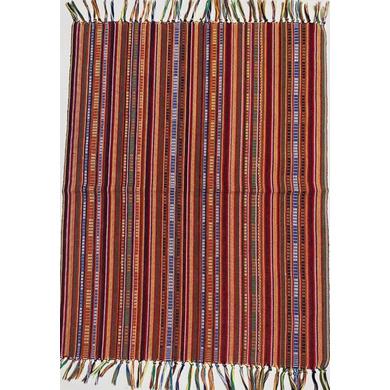 Yakan Cloth - Sinaluan Placemat (Red)-PL004