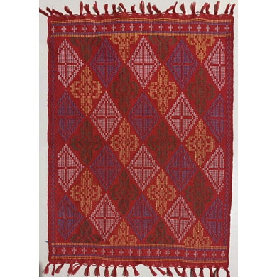 Yakan Cloth Placemat (Red)-PL005