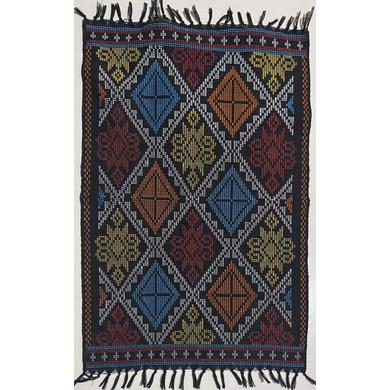 Yakan Cloth Placemat (Black)-PL006