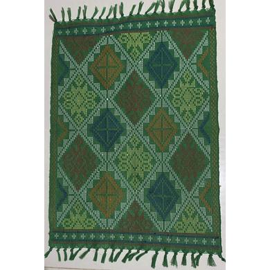 Yakan Cloth - Placemat (Green)-PL007