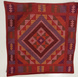 Yakan Throw Pillow case (RED)-PC001-sm