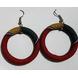 Yakan Earring (Red)-ER001-sm