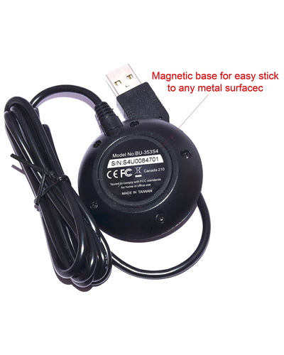 GlobalSat BU-353S4 Cable USB GPS Receiver-4