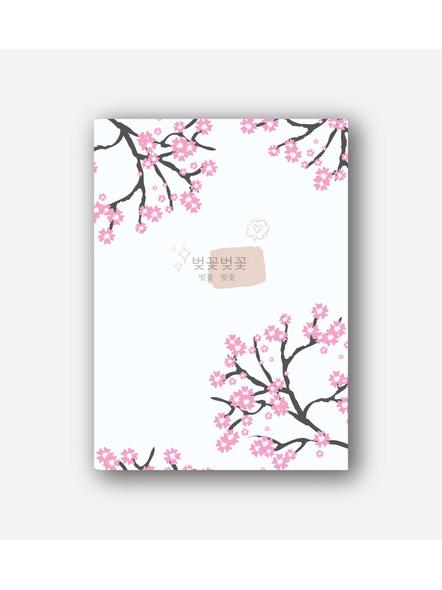 Korean Cherry Blossom Notebook-9