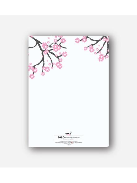 Korean Cherry Blossom Notebook-1