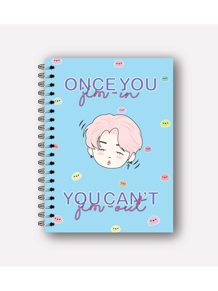 Once You Jim In, You Can't Jim Out Notebook-1