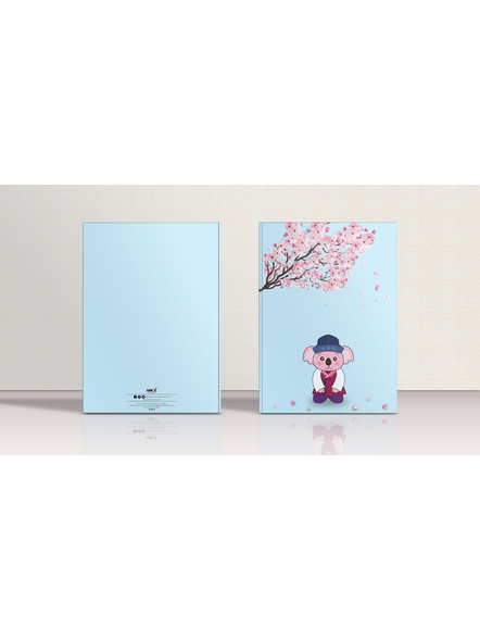 Kayola in a Korean Hanbok Notebook-3