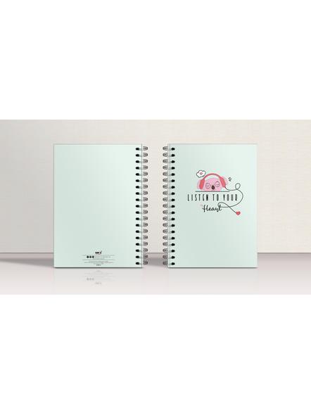 Listen To Your Heart Notebook-3
