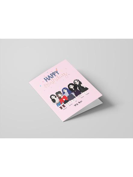 Kpop Unnie's - Happy Birthday Card-1