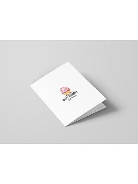 Sweet Cupcake- Happy Birthday Card-1