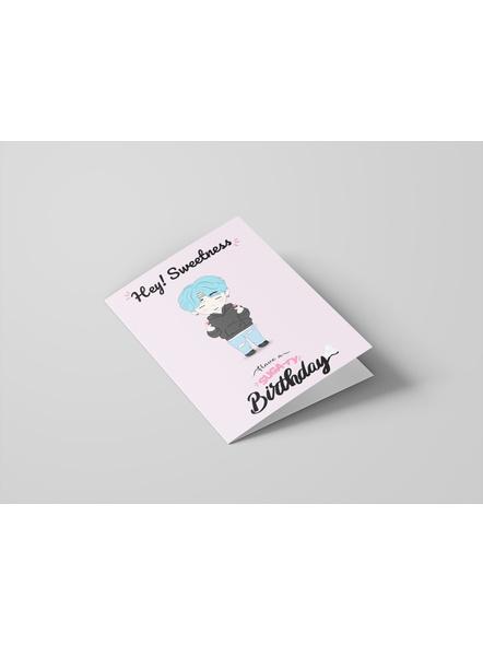 Suga - BTS Happy Birthday Card-1