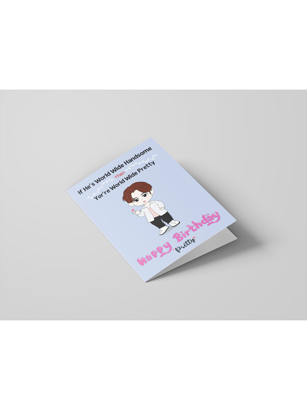 Jin - BTS Happy Birthday Card-1