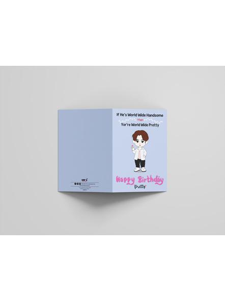 Jin - BTS Happy Birthday Card-2