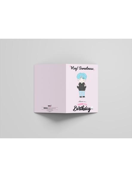 Suga - BTS Happy Birthday Card-2
