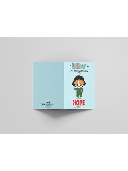 Jhope - BTS Happy Birthday Card-2