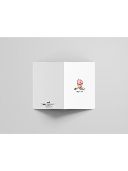 Sweet Cupcake- Happy Birthday Card-2