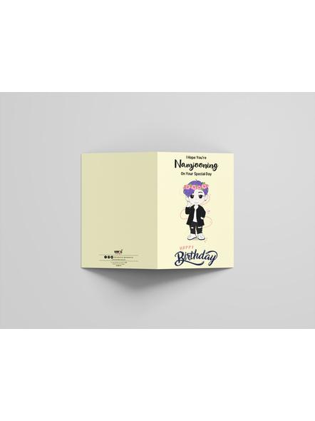 Namjoon - BTS Happy Birthday Card-2