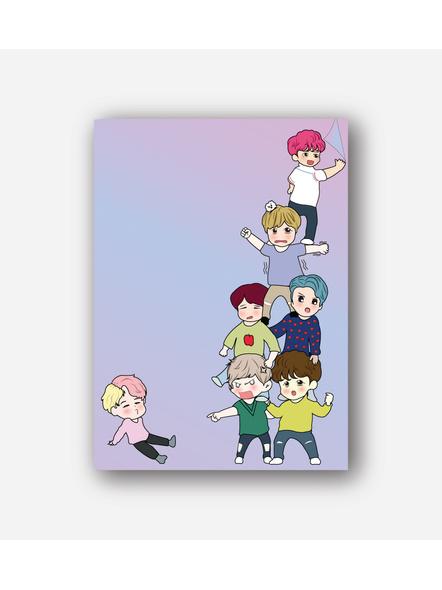 BTS Chibi Notebook-8