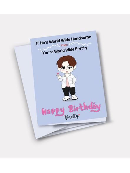 Jin - BTS Happy Birthday Card-29