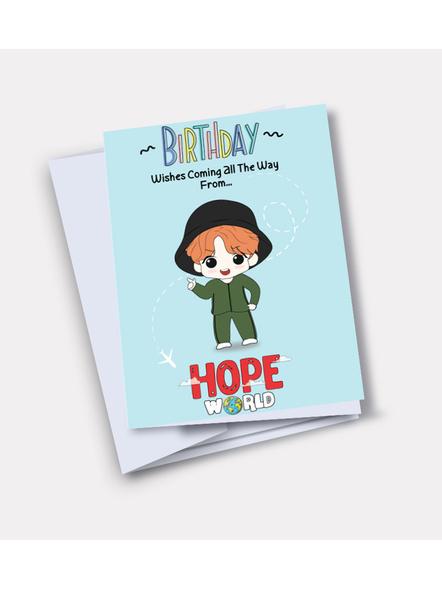 Jhope - BTS Happy Birthday Card-32