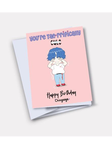 V - BTS Happy Birthday Card-33