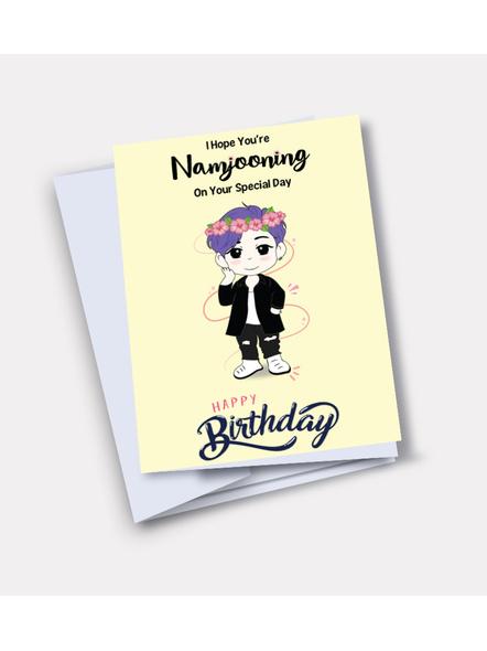 Namjoon - BTS Happy Birthday Card-34