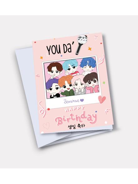 OT7 - BTS Happy Birthday Card-35