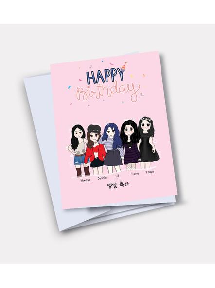 Kpop Unnie's - Happy Birthday Card-37