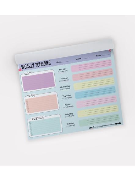 Weekly Planner Notepad-25