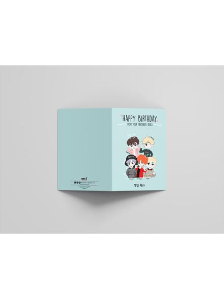 Kpop Oppa's - Happy Birthday Card-2