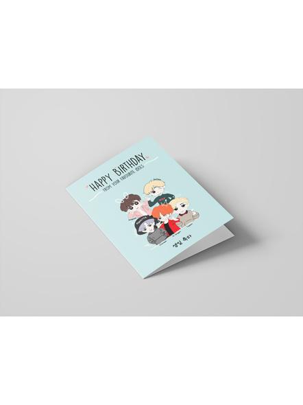 Kpop Oppa's - Happy Birthday Card-1