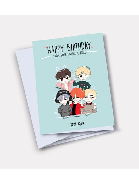 Kpop Oppa's - Happy Birthday Card-36