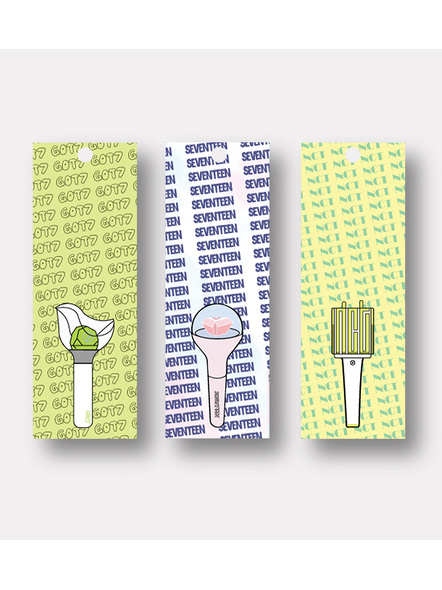 K-pop 7 Heaven- Bookmark Set of 3-51