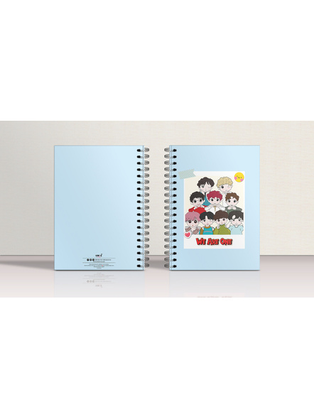 We Are One Notebook & EXO Chibi Badge-3