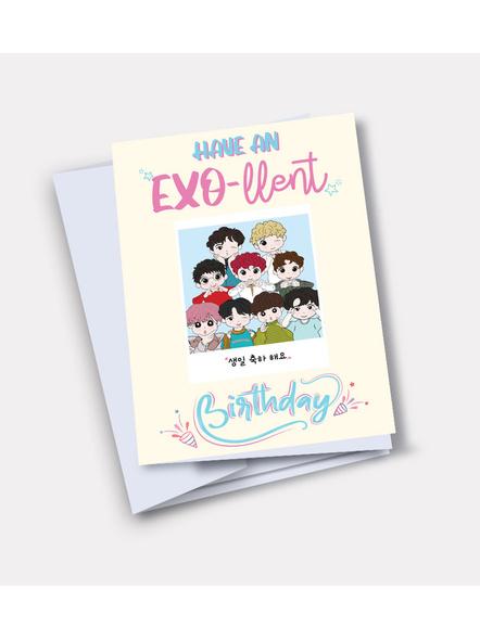 OT9 - EXO Happy Birthday Card-GCGL12200001