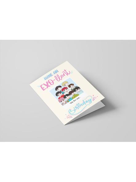 OT9 - EXO Happy Birthday Card-1