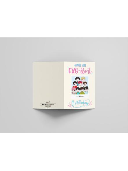 OT9 - EXO Happy Birthday Card-2
