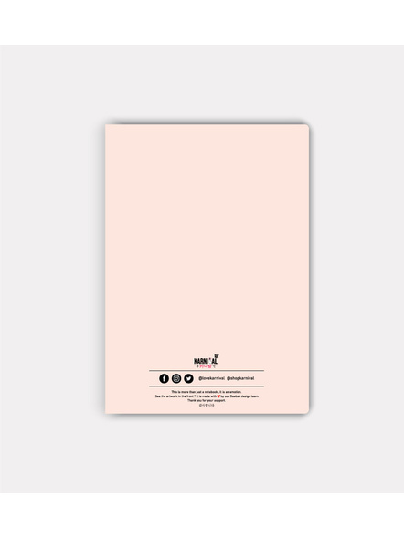 Red Velvet Lightstick Jotbook-1
