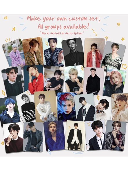 K-pop Surprise Photocards - BTS and Any Group (Set of 25)-Surprise25
