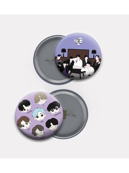 Sarang BTS Badges- Set of 2-1