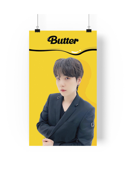 Suga Poster - Butter Collection-73