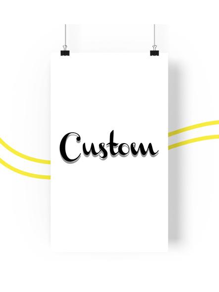 Custom Poster- Any Group-80