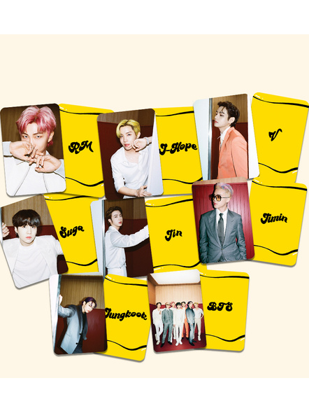 BTS Teaser 1 Photocards- Butter Collection-82