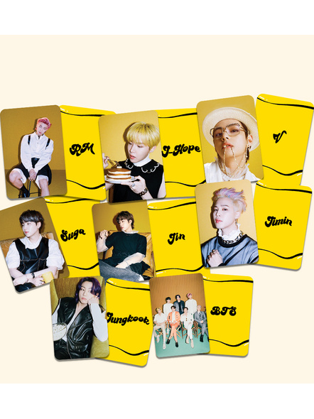 BTS Teaser 2 Photocards- Butter Collection-83
