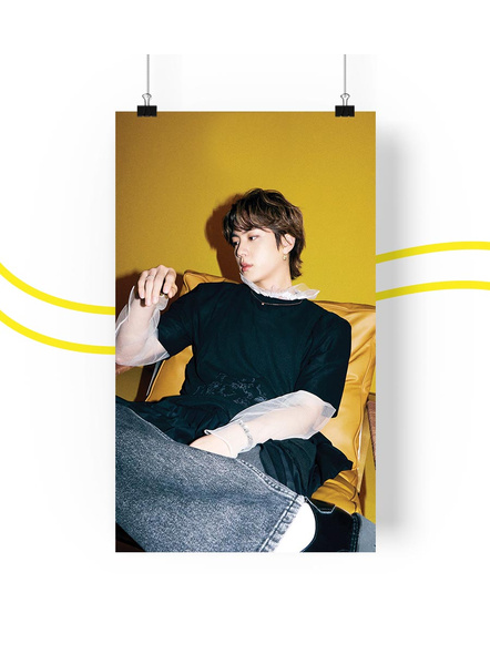 BTS-Jin-Teaser-2-Butter-Collection-Poster